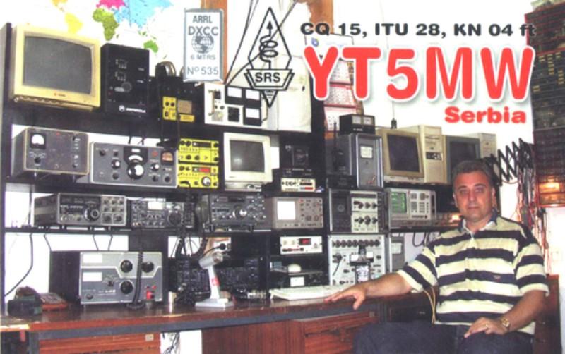 QSL YT5MW